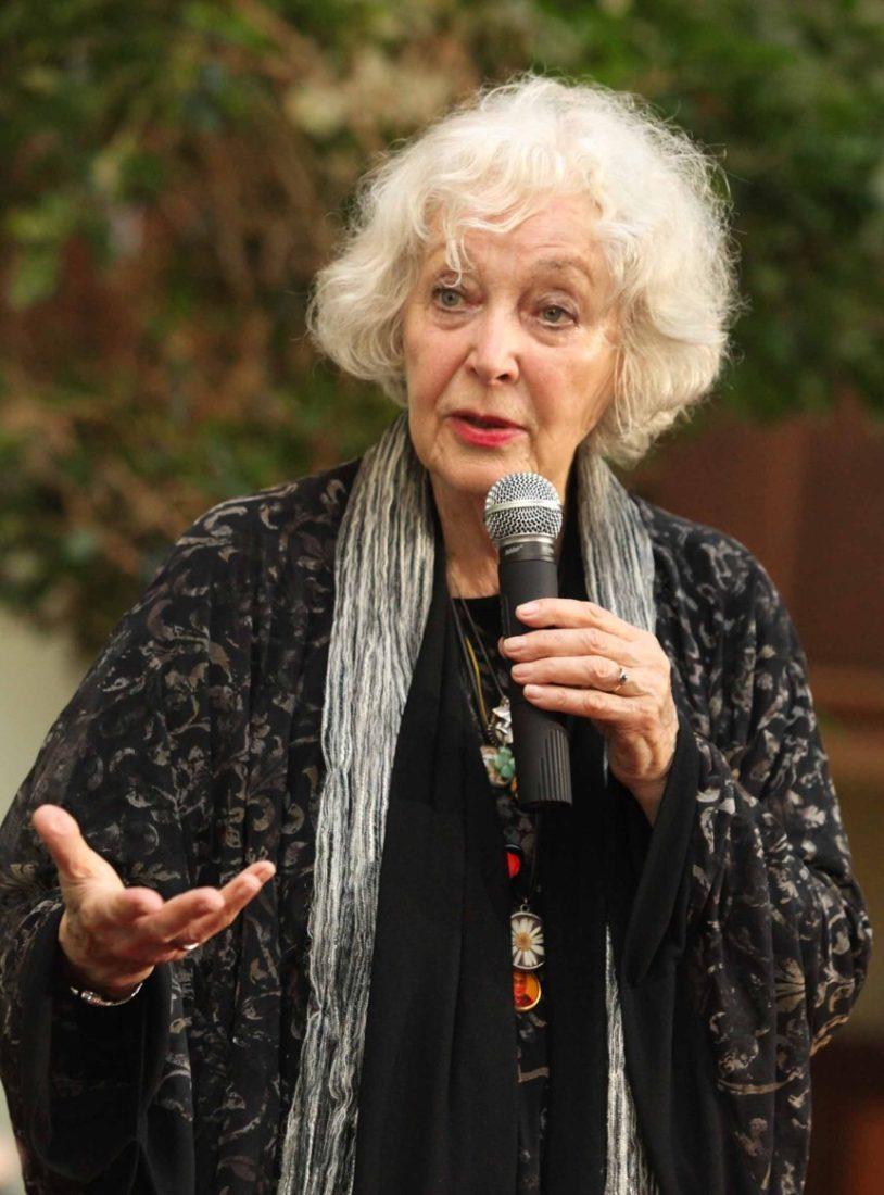 Herečka Květa Fialová dokázala návštěvníky bavit vyprávěním více než dvě hodiny.