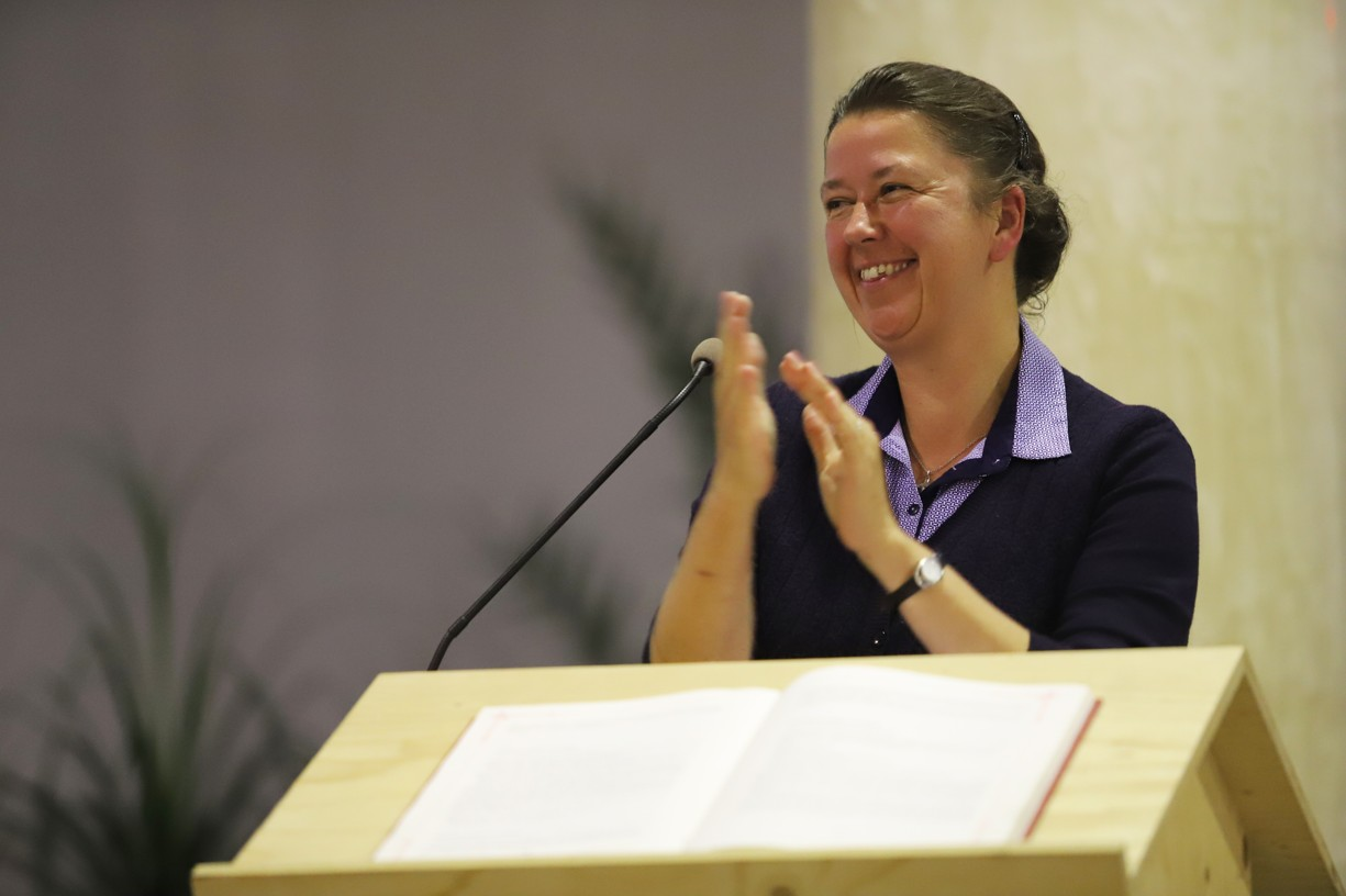 Roli moderátorky skvěle zvládla Hana Frančáková, vedoucí sekretariátu Českomoravské Fatimy