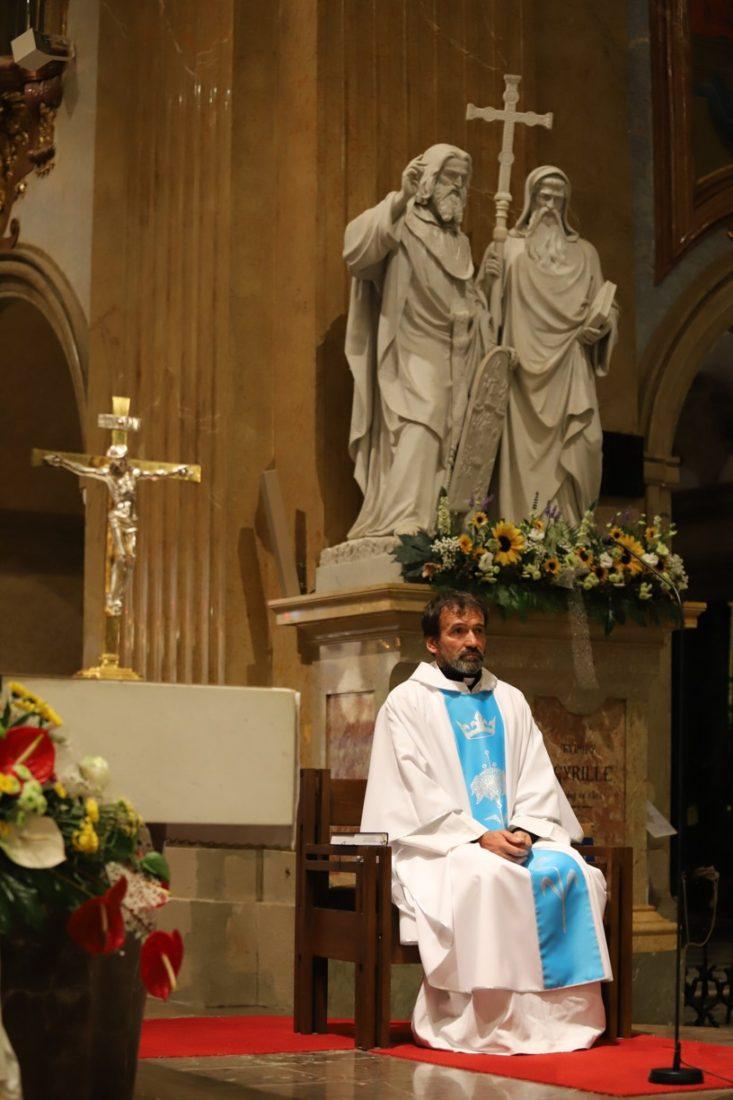 P. Marián Kuffa sloužil na Velehradě svou první mši svatou.