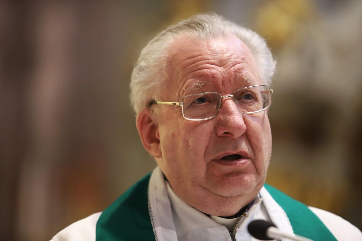 V Uherském Hradišti se o své zkušenosti s evangelizací podělil P. Pat Collins z Irska.