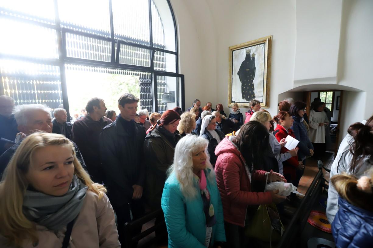 Misie uzavřela mše svatá v kapli sv. Rocha nad Uherským Hradištěm.