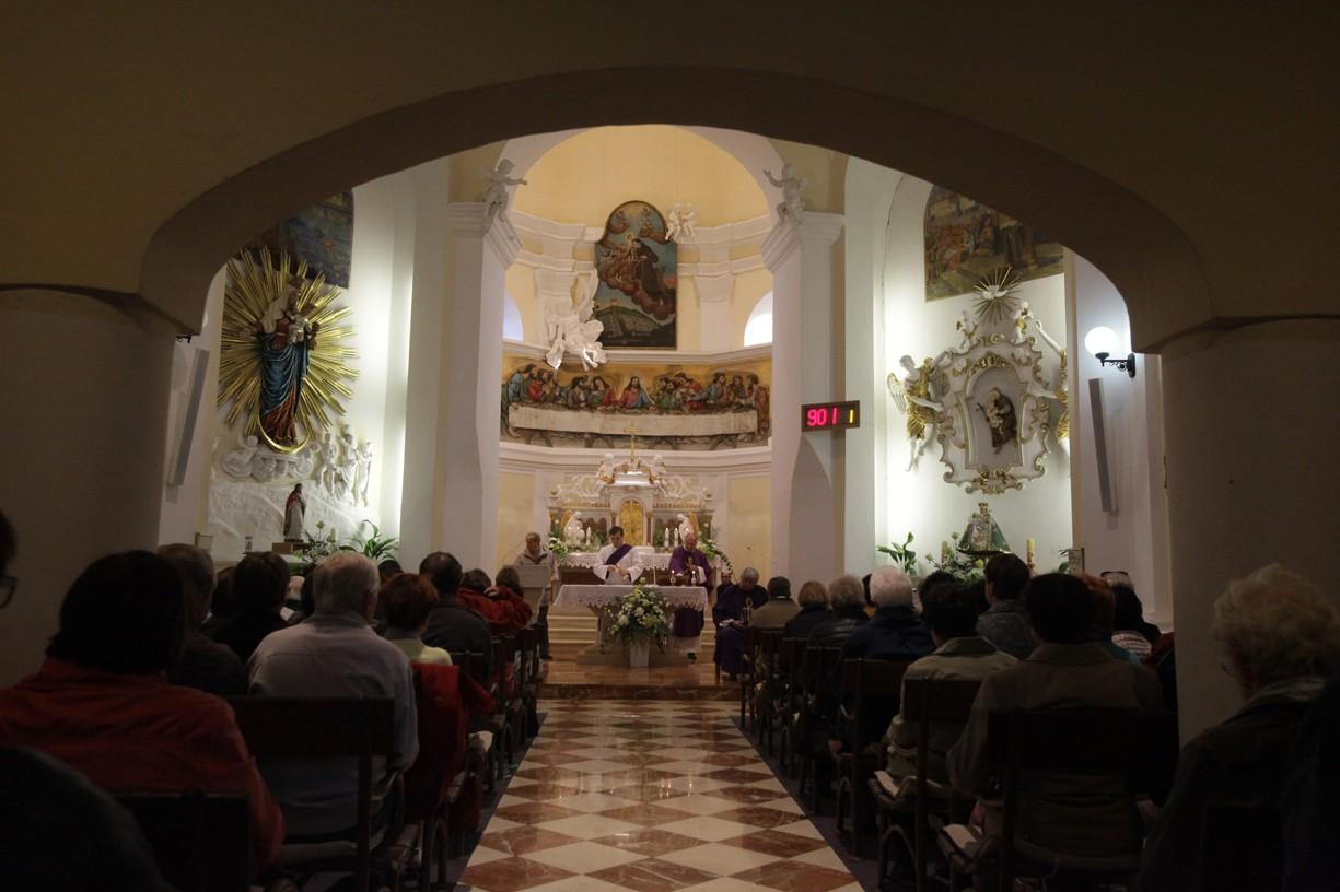 Dušičková pouť na Svatém Antonínku nad Blatnicí
