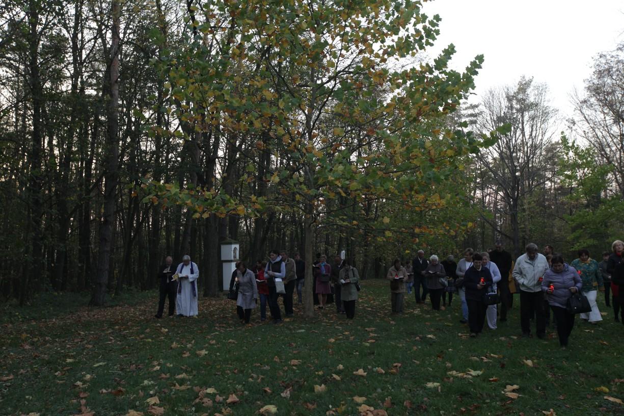 Křížová cesta na Svatém Antonínku
