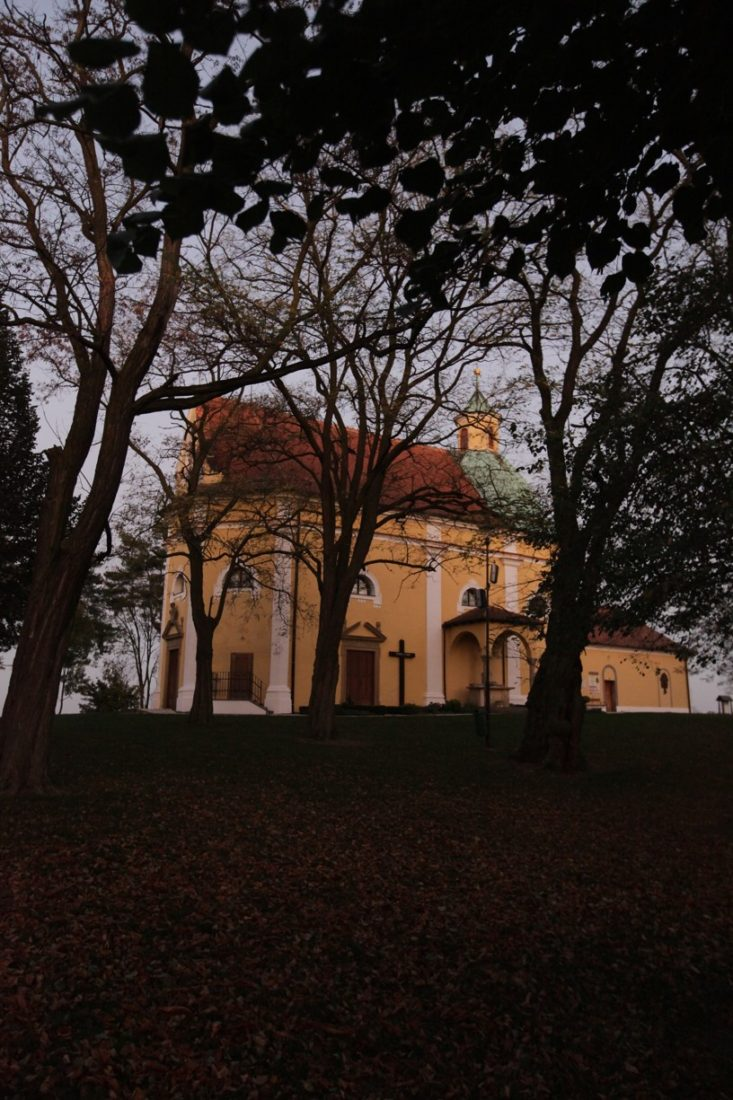 Podzimní pohled na Antonínek