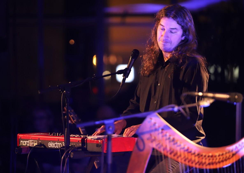 Zpěvák, kytarista a klávesista Ondřej Fencl