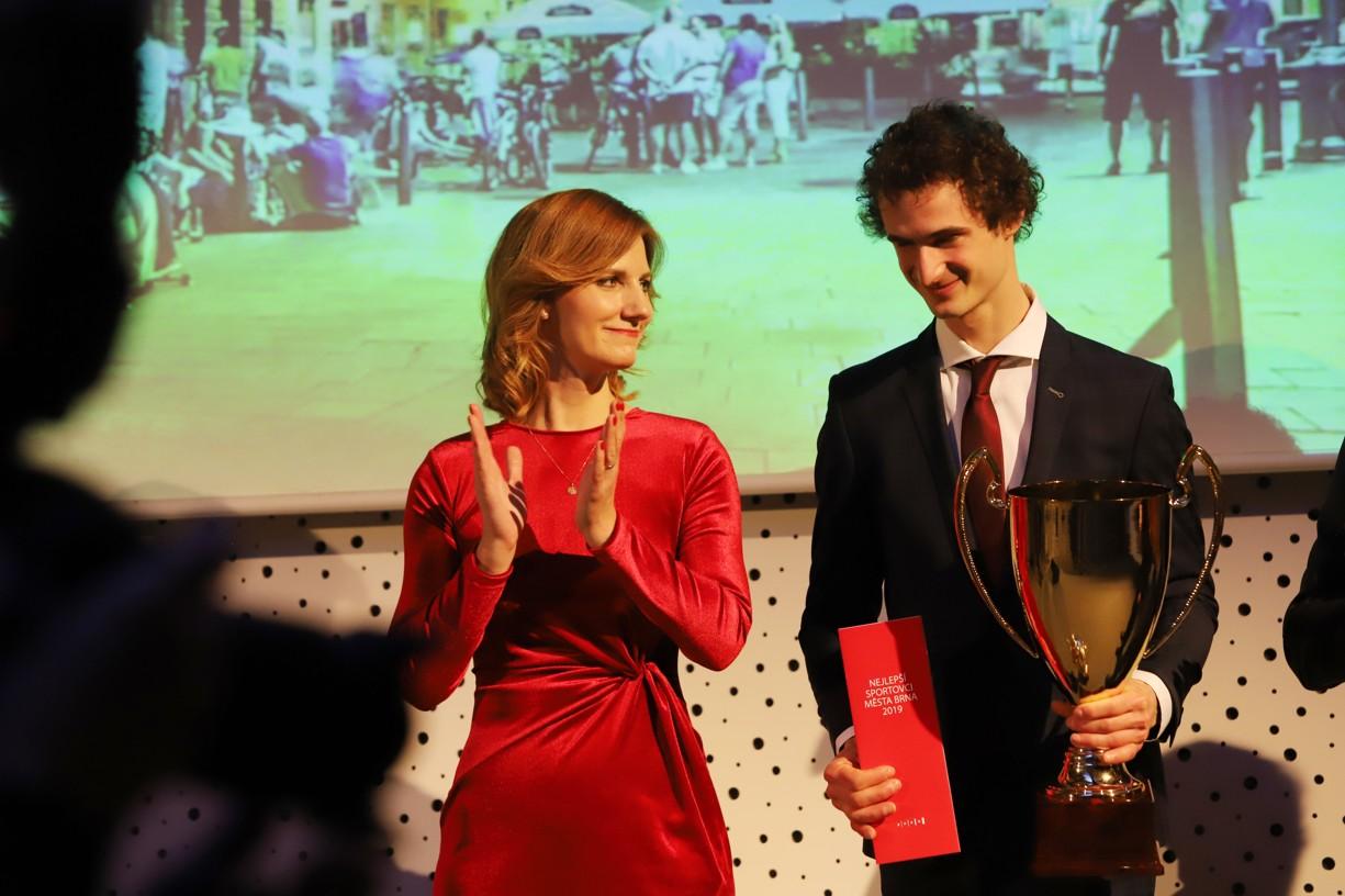 Nejlepším sportovcem Brna byl už pošesté vyhlášen mistr světa a Evropy v lezení na obtížnost Adam Ondra.