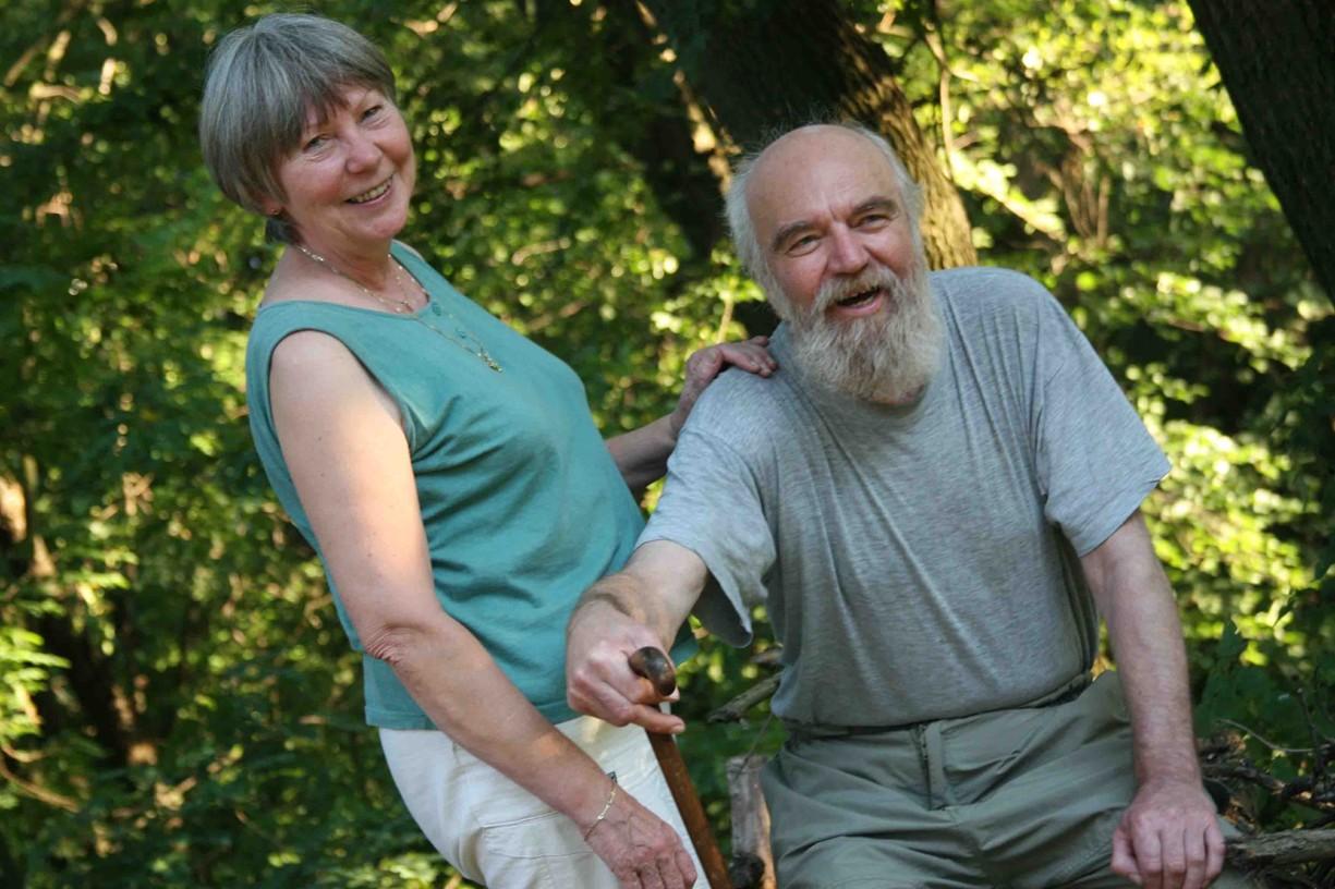 Manželé Slovákovi v Javorníku v červenci roku 2007.