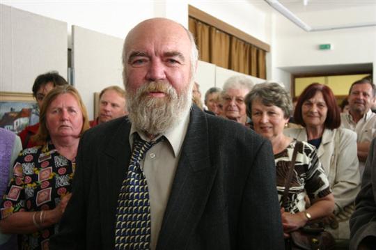 Skvělý malíř, muzikant a zpěvák Jura Slovák v roce 2007, kdy slavil šedesátiny.