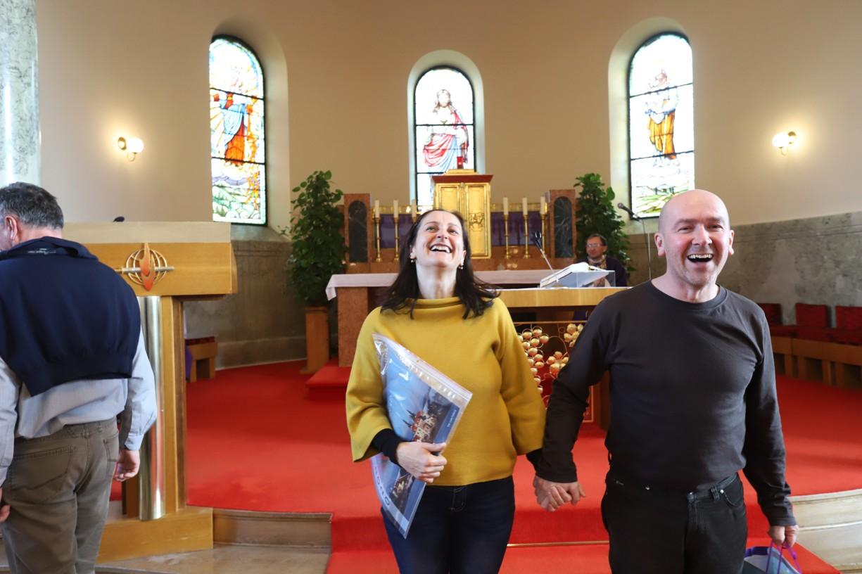 Manželé Pavelkovi celý seminář skvěle obohatili zpěvem a hudbou