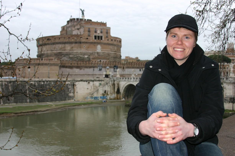 U kamarádky Blanky jsem v Římě získala na pár dnů azyl.