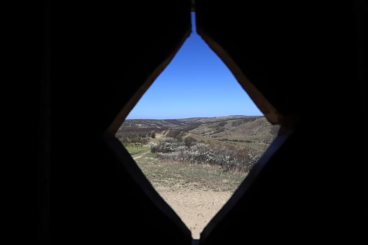 Pohled z kadibudky