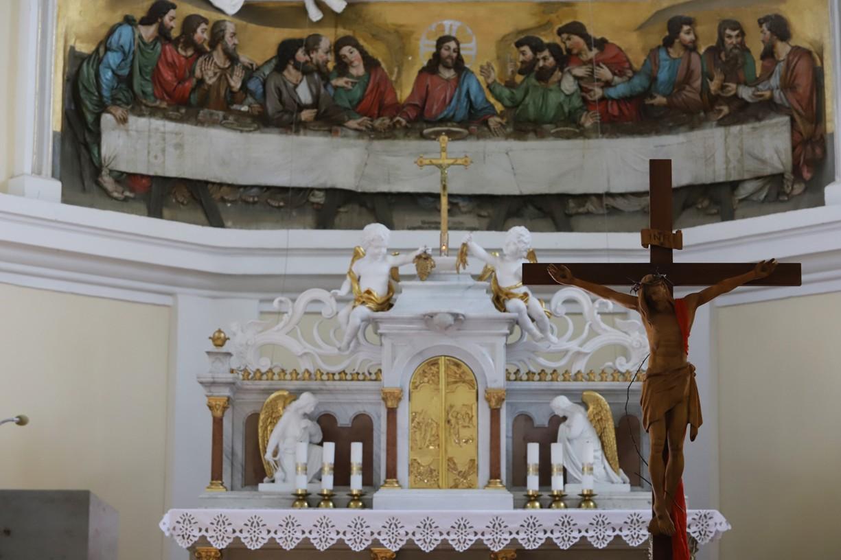 Velký pátek v kapli na Antonínku