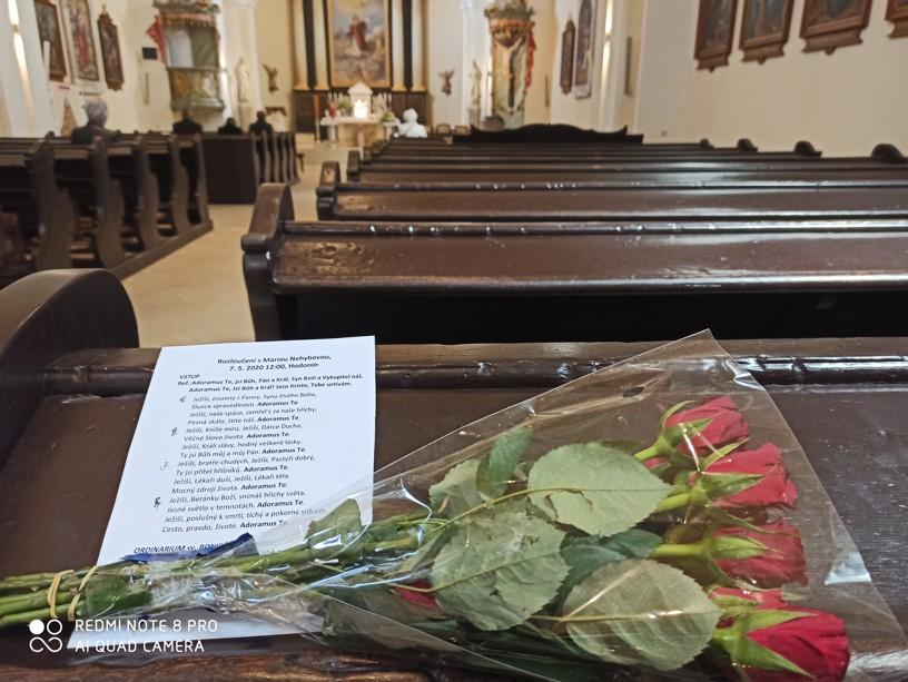 V kostele sv. Vavřince jsem byla mezi prvními... Foto: Lenka Fojtíková