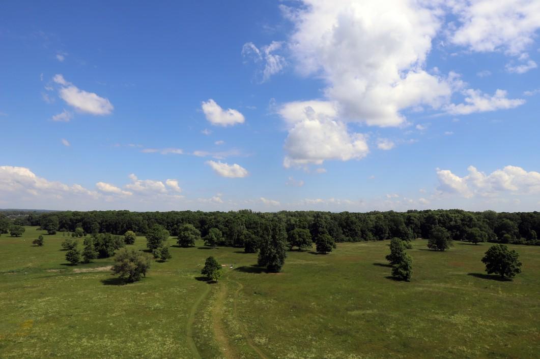 Z nové vyhlídkové věže je možné vidět velkou část celého areálu z nadhledu.