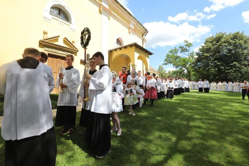 Řazení liturgického průvodu