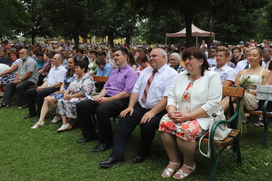 Rodiče Stanislav a Vladimíra Radochovi seděli v první řadě