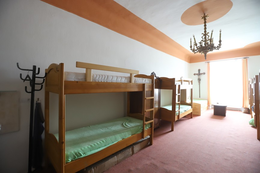 Některé pokoje slavonické fary jsou už k dispozici návštěvníkům.