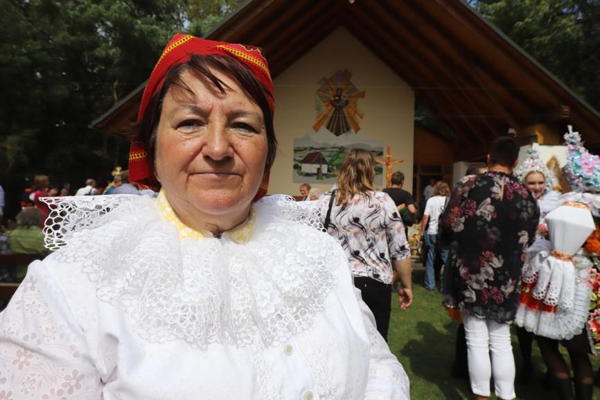 Jarmila Hrušková z Blatničky je obětavou členkou výboru Matice svatoantonínské.