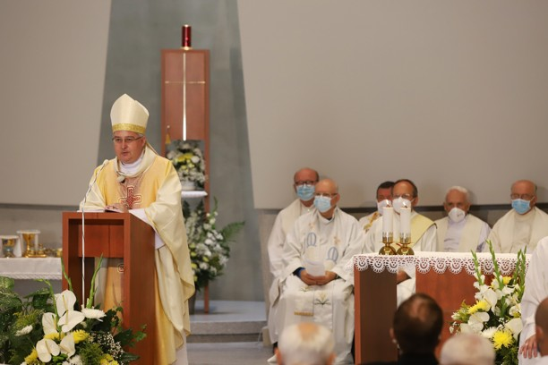 Kázání pomocného brněnského biskupa Pavla Konzbula.