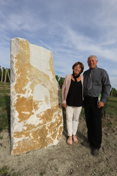 Úžasní manželé Anna a Rudolf Žídkovi díky nimž je v jejich viniční trati Svidrung nádherná křížová cesta.