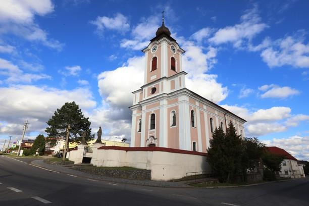 Kostel svatého Václava v Novém Veselí.