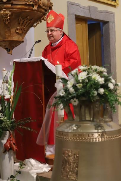 Mši svaté předsedal brněnský biskup Mons. Pavel Konzbul.
