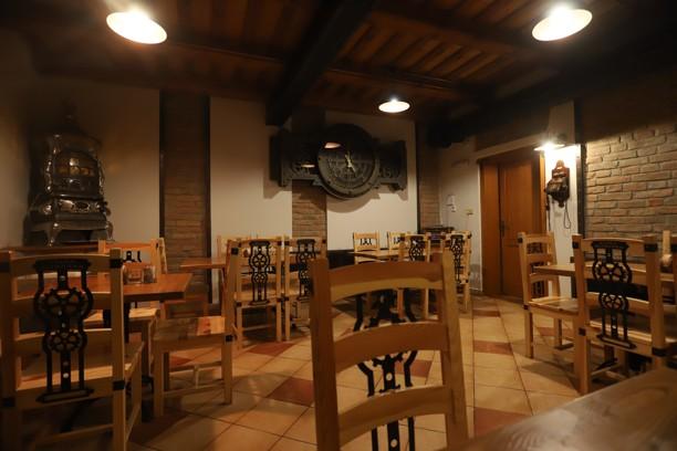Restaurace a penzion Stará plynárna v Hřensku.