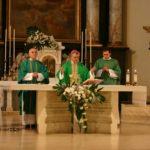 Mši svatou sloužil tehdy P. František Lízna po boku biskupa Petra Esterky.