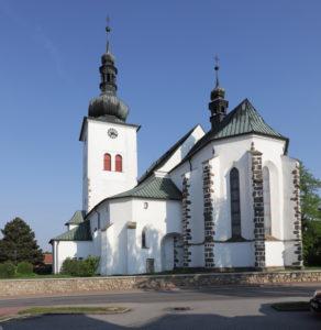 Kostel sv. Václava v Křižanově