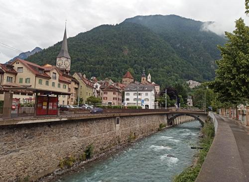 Na skok ve švýcarským městě Chur