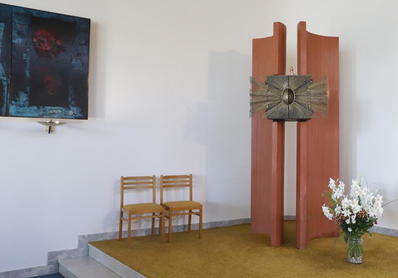 Interiér kostela sv. Josefa v Senetářově