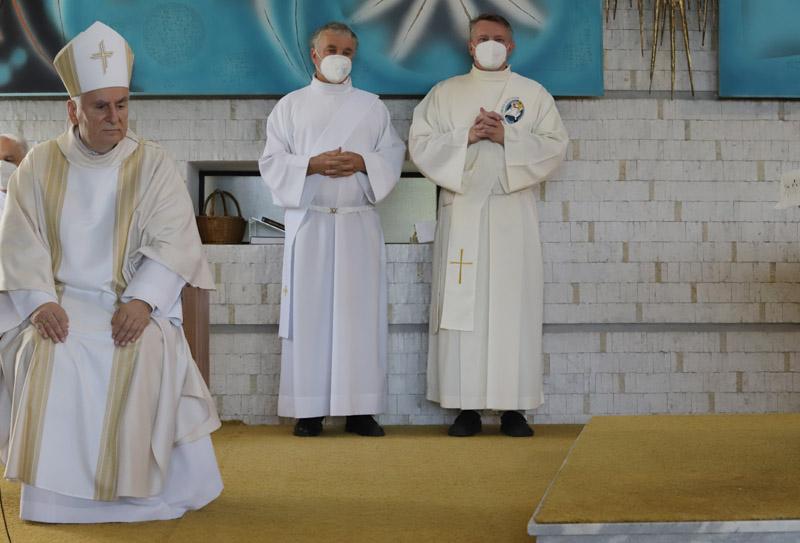 Mše svatá s biskupem