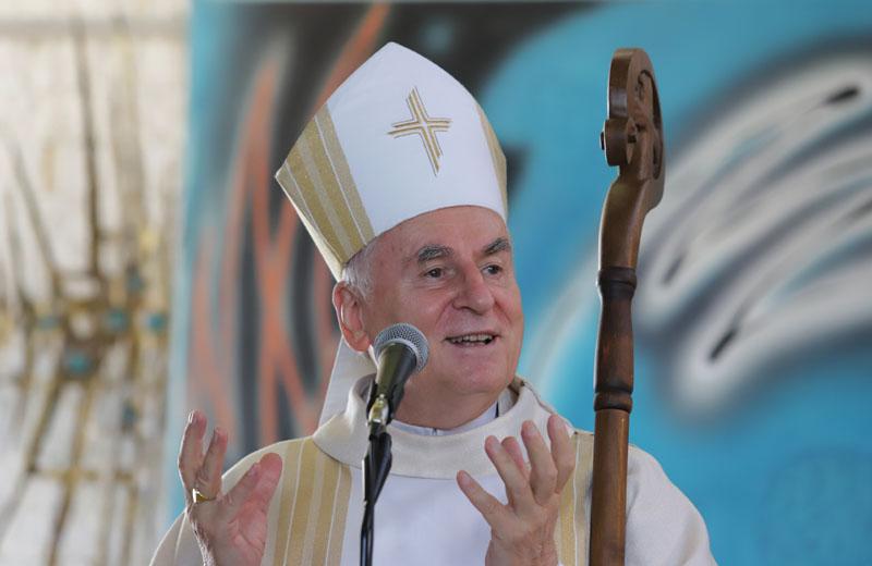 Promluvu měl brněnský biskup Vojtěch Cikrle