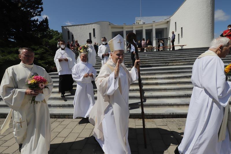 Požehnání pana biskupa