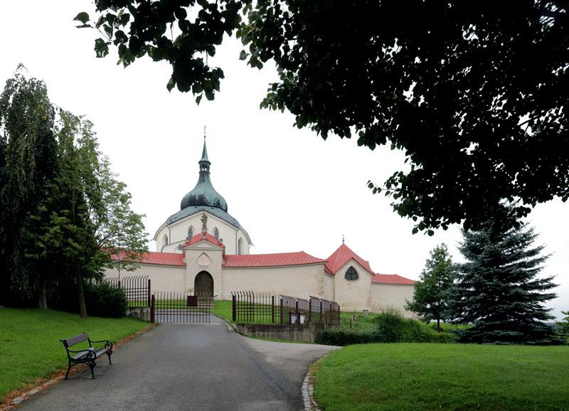 Zelená hora s kostelem sv. Jana Nepomuckého