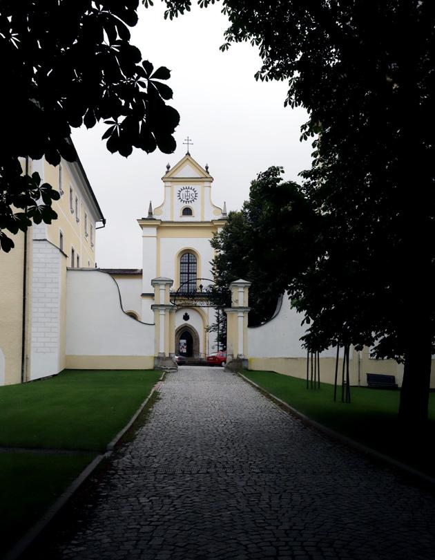 Bazilika Nanebevzetí Panny Marie ve Žďáru nad Sázavou.