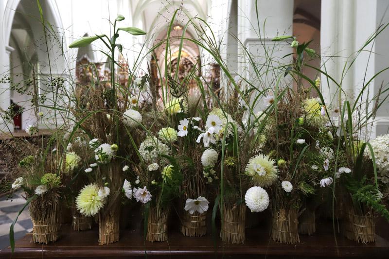 Výstava květin s názvem: Bazilika v květech naděje
