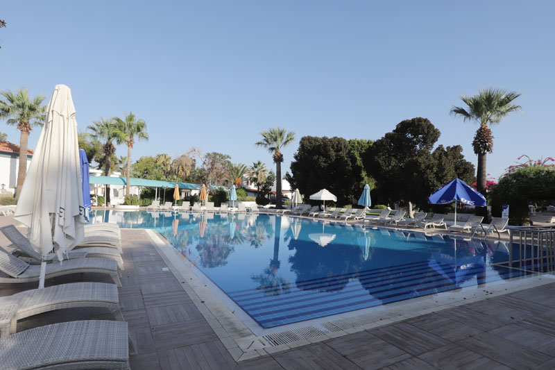 Bydleli jsme v Merit Cyprus Gardens Resort v Iskele