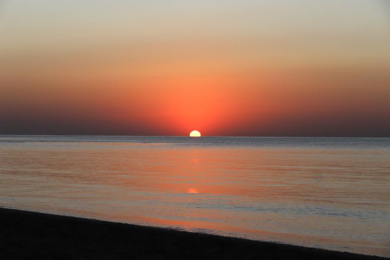Nemohla jsem si nechat ujít východ slunce
