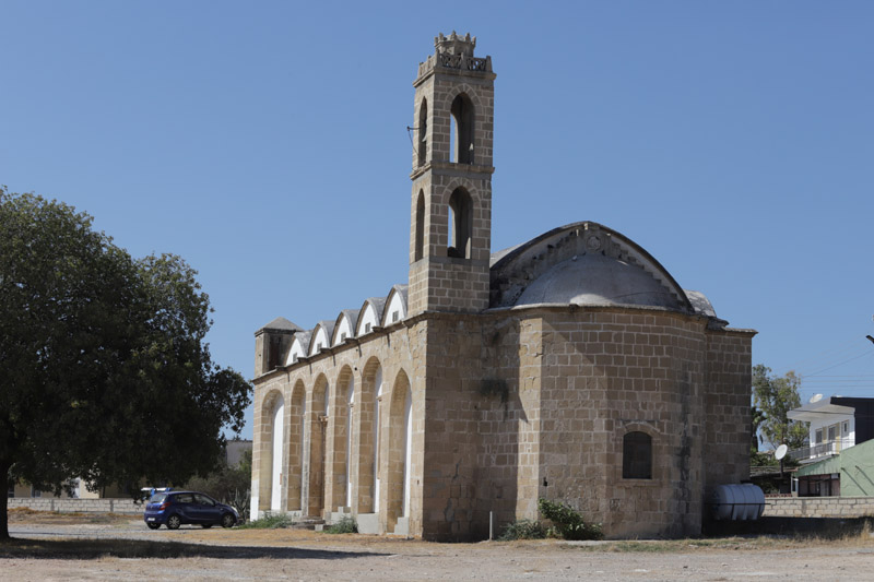 V tomto kostelíku mělo být muzeum ikon, ale byl zavřený