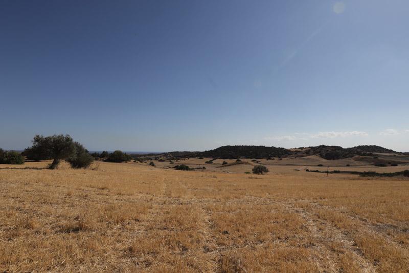 Putování na hrad Kantara nabízelo zajímavé pohledy na krajinu