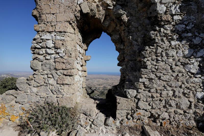 Něčím mně hrad Kantara připomínal milovanou Pálavu