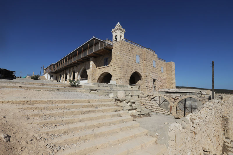 Klášter sv. Ondřeje na východě severního Kypru