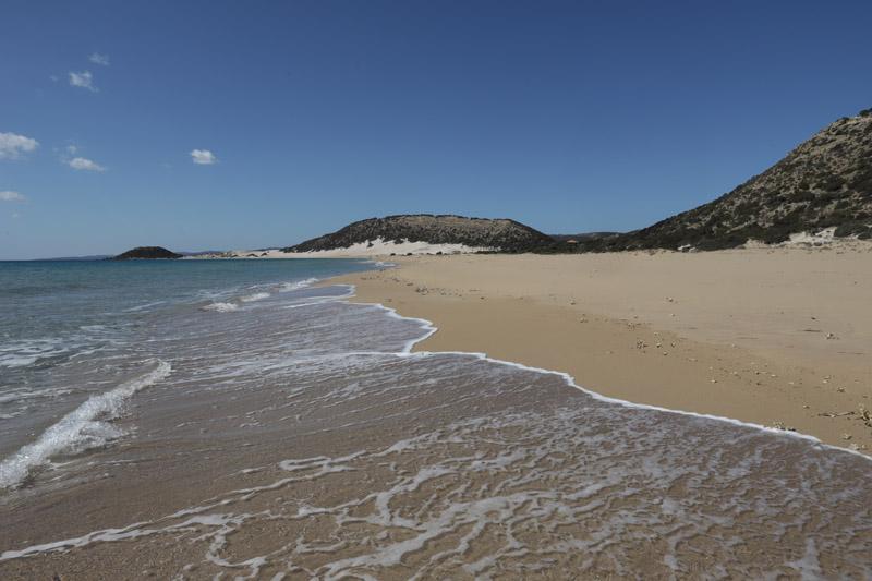 Ta pláž byla prostě tak nádherná a liduprázdná, že jsem ztratila slova