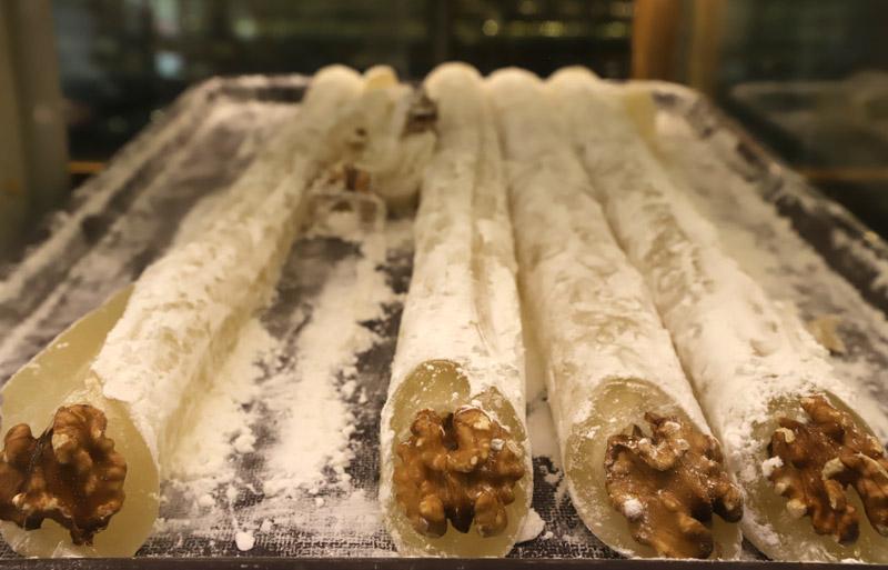 Cukrárna Petek nabízela nepřeberné množství dobrot