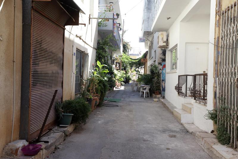 Úzké uličky Famagusty