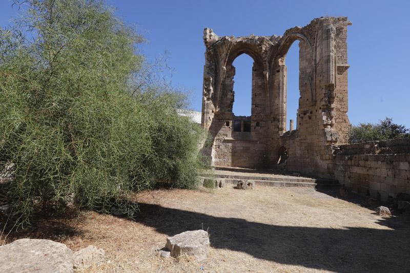 Ruiny kostela sv. Františka